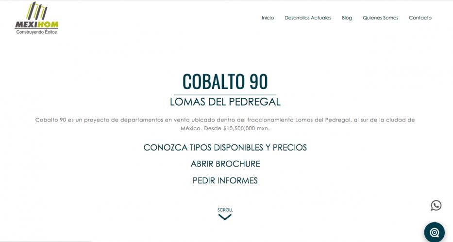 Mexihom Web Ceiba