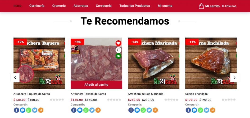 La mexicana Tienda en Línea